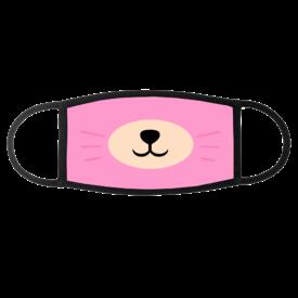 Peekaboo Face Masks (Pink)