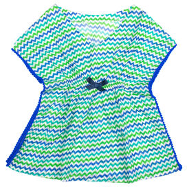 Chevron Blue Tunic, 2yr-3yr