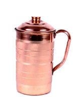 Hand-E-Crafts Pure Copper Jug - 1500 Ml