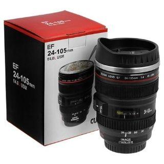 Flintstop Camera Lens Mug