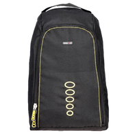 BagsRus Black Polyester Backpack