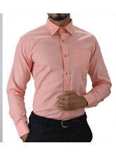 El Figo Men's Cotton Slim Fit Booty Shirt (Baby_ Pink_ Booty), pink, m