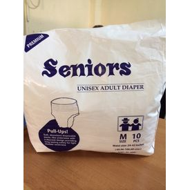 Senior Pullon Adult Diaper - Medium (10Pcs)