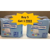 Relieve pull up Diaper - 5+ 1 Combo Offer, large