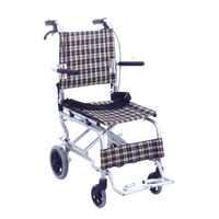 Aluminium light-weight wheelchair (804)