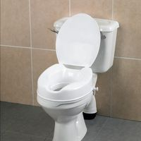 Toilet raiser with lid, 10 cm