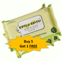 Wet Wipes - Easy Bath - 5+ 1 combo offer