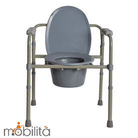 Bedside commode chair (M300)
