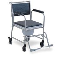 Wheelchair with commode (691S)
