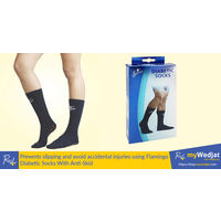 Diabetic Socks, white