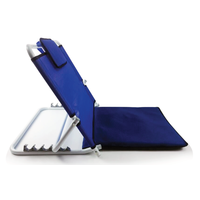 Extra-wide comfortable and adjustable backrest