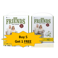 Friends Easy Regular Diaper -5+ 1 Combo Offer, large