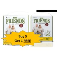 Friends Easy Regular Diaper -5+ 1 Combo Offer, xl