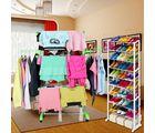 Kawachi Power Dryer Cloth Drying Stand And Amazing Shoe Rack Combo