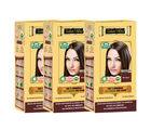 Indus valley 100% Organic Botanical Brown (Pack of 3) Hair Color