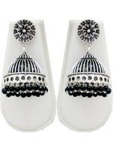 Shubh Gems German Silver Earrings For Women (SGM970)