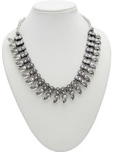 Shubh Gems German Silver Necklace For Women (SGM882)