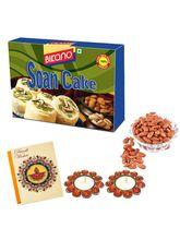 Bikano Soan Cake And Masala Almonds-Diwali Gifts