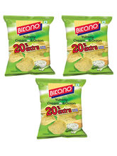 Bikano Chips-Cream Onion 60 gm-Pack Of 3 (BIKANO1089)