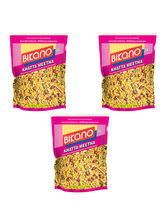 Bikano Khatta Meetha Mixture-400-Pack Of 3 (BIKANO1007)