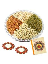 Bikanervala Diwali Special Round Dry Fruit Platter