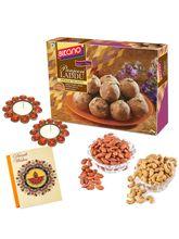 Bikano Diwali Special Panjeeri Laddoo 400 Gm And Dryfruits