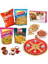 Bikano Gourmet Bag With Dryfruits And Bhaidooj Puj...