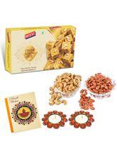Bikano Chana Almond Bite 400 Gm And Dryfruits-Diwali Special