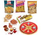 Bikano Favourites And Dryfruits With Bhaidooj Puja Thali
