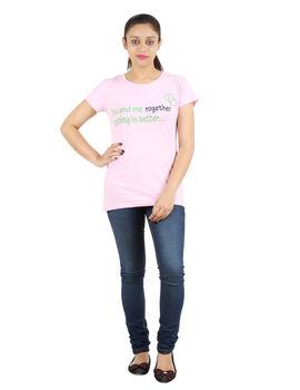 YMF / LOVE TEE, m,  pink