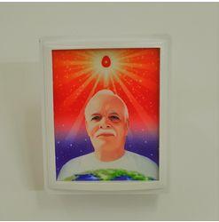 712 - LED - Square - Light - Brahma Baba