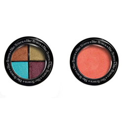 Blue Heaven Diamond Blush On 503 & Eye Magic Eye Shadow 603 Combo, 13 gm