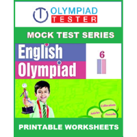 Class 6 English Olympiad - 70 Printable worksheets