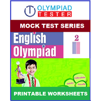 Class 2 English Olympiad - 60 Printable Worksheets