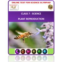 Class 7, Plant reproduction, Online test for Science Olympiad