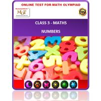 Class 3 Maths - Numbers - Printable PDF Worksheets (17 Nos)