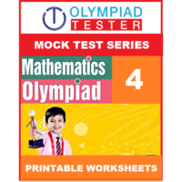 Class 4 Maths Olympiad - 30 Mock tests - Printable Worksheets