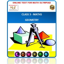 Class 3, Geometry, Online test for Maths Olympiad