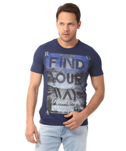 T SHIRT,  navy, xl/42 cm, s15rfp7051