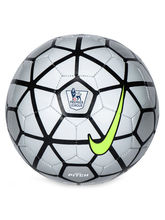 Nike Pitch Pl Silver Soccer Ball
