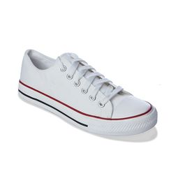 Romanfox White-casual-Sneaker With one year exchange warranty, white, 9
