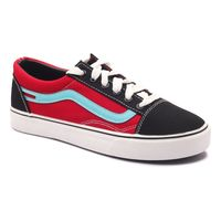 Romanfox Red BlueCasual Shoes roman99975, 10, red blue