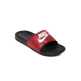 Nike Benassi jdi print, red, 7