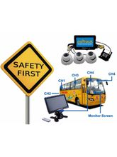 AaiTrack School Bus Monitoring and Tracking, white and black
