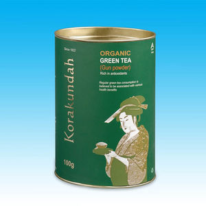 Green Tea Powder Tin, 100 gms