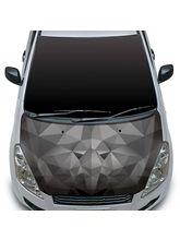 Autographix Polygon Face Small Car Bonnet Wrap