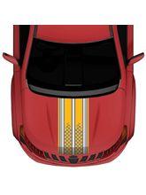 Autographix Bumbelee Stripe Large Car Bonnet Wrap