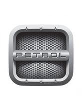Autographix Square Petrol Fuel Badge
