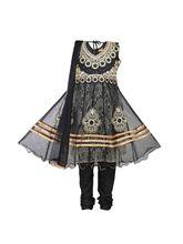 Ashwini Designer Casual Polyster Salwar Suits (CM7_ 1028), 26, black