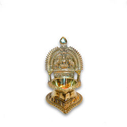 "Kamatchi Lamp (Height-6"" , Weight-520Grms, Diameter-2 3/4"" )"